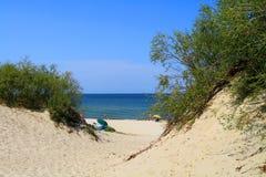 Wybrzeże morze bałtyckie Fotografia Royalty Free