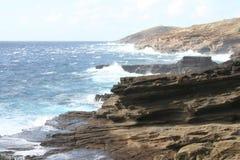 wybrzeże niewygładzony Fotografia Royalty Free