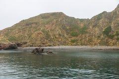 wybrzeże niewygładzony Zdjęcia Royalty Free