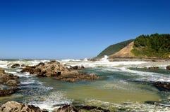 wybrzeże niewygładzony Oregon fotografia stock