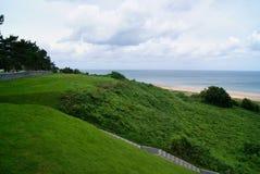 Wybrzeże Normandy, scena wojna światowa 2 Obraz Royalty Free