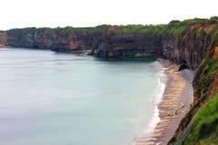 Wybrzeże Normandy w France zdjęcia stock
