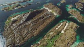 Wybrzeże Norwegia zdjęcie wideo