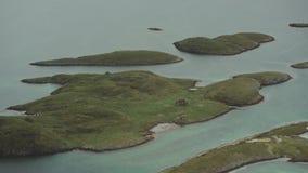 Wybrzeże Norwegia zbiory wideo
