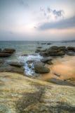 Wybrzeże ocean indyjski fotografia stock