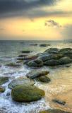 Wybrzeże ocean indyjski obrazy royalty free
