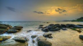 Wybrzeże ocean indyjski zdjęcia stock