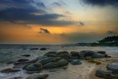 Wybrzeże ocean indyjski fotografia royalty free