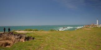 Wybrzeże Pacyfiku wrażenia punkt areny światło, Kalifornia usa Fotografia Royalty Free