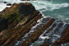 Wybrzeże Pacyfiku wrażenia punkt areny światło, Kalifornia usa Zdjęcie Stock