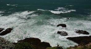 Wybrzeże Pacyfiku wrażenia punkt areny światło, Kalifornia usa Obrazy Stock