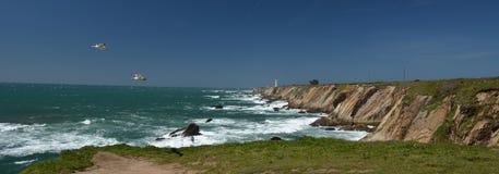 Wybrzeże Pacyfiku wrażenia punkt areny światło, Kalifornia usa Fotografia Stock