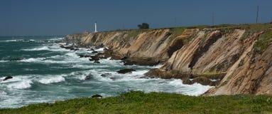 Wybrzeże Pacyfiku wrażenia punkt areny światło, Kalifornia usa Zdjęcie Royalty Free