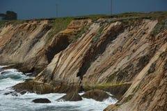 Wybrzeże Pacyfiku wrażenia punkt areny światło, Kalifornia usa Obrazy Royalty Free