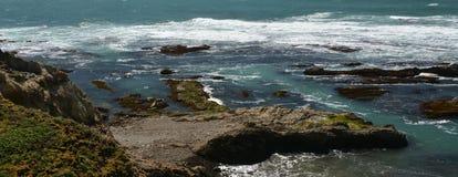 Wybrzeże Pacyfiku wrażenia punkt areny światło, Kalifornia usa Obraz Royalty Free