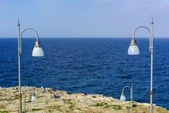 Wybrzeże Polignano fotografia stock