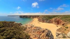 Wybrzeże przy Południowo-zachodni Portugalia obraz royalty free