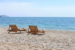 Wybrzeże przy stopą Dag zdjęcie stock
