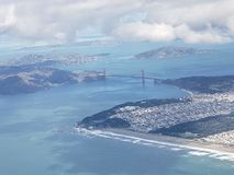 Wybrzeże San Francisco Kalifornia obrazy stock