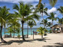 Wybrzeże Santo Domingo, Republika Dominikańska zdjęcie stock