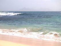 Wybrzeże Sao Vincente, jeden wyspy w przylądka Verde archipelagu Obrazy Royalty Free