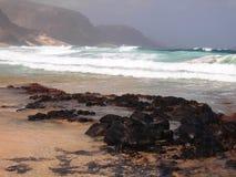 Wybrzeże Sao Vincente, jeden wyspy w przylądka Verde archipelagu Obraz Stock