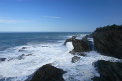 wybrzeże spokojne potężny obraz royalty free
