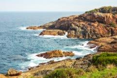 Wybrzeże - szafiru wybrzeże Fotografia Stock