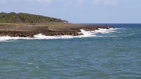 Wybrzeże w Baracoa zbiory wideo