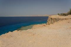 Wybrzeże w Egipt morza czerwonego obrazy royalty free