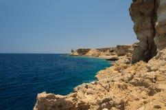 Wybrzeże w Egipt morza czerwonego obraz royalty free