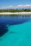 Wybrzeże w gładkiej wodzie Obraz Stock