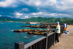 Wybrzeże w Keelung Zdjęcia Royalty Free