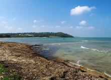 wybrzeże wyspę wight Zdjęcie Stock