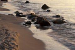 Wybrzeże Ahrenshoop Obrazy Royalty Free