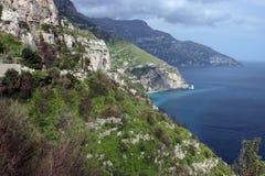 wybrzeże amalfi Fotografia Royalty Free