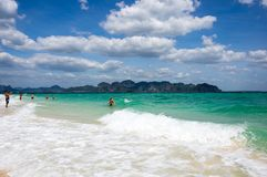 Wybrzeże Andaman morze Zdjęcia Stock