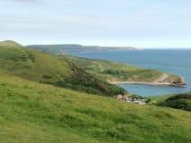 Wybrzeże Anglia Obrazy Royalty Free