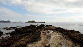 Wybrzeże Benicasim przy sunrism zbiory