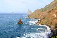 Wybrzeże Benijo Zdjęcia Stock