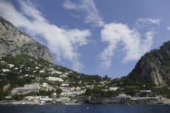 Wybrzeże capri, Italy Zdjęcia Royalty Free