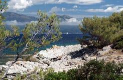 Wybrzeże Corsica wyspa Obraz Royalty Free