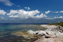 Wybrzeże Corsica wyspa Zdjęcia Royalty Free