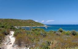 Wybrzeże Corsica wyspa Zdjęcie Stock