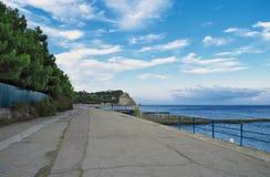 Wybrzeże czarny morze Obraz Royalty Free