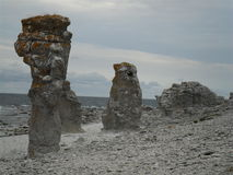 Wybrzeże Farö Obrazy Stock