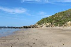 Wybrzeże Francja, Normandy Obraz Stock