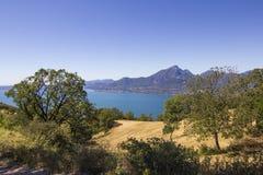 Wybrzeże gardy jezioro Fotografia Stock