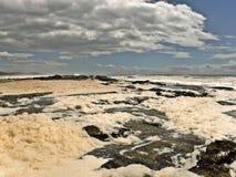 Wybrzeże i horyzont Obrazy Royalty Free