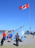 Wybrzeże i niebo Zdjęcie Royalty Free